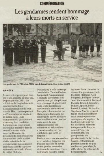 annecy,gendarme,ceremonie,victime,porte-drapeau