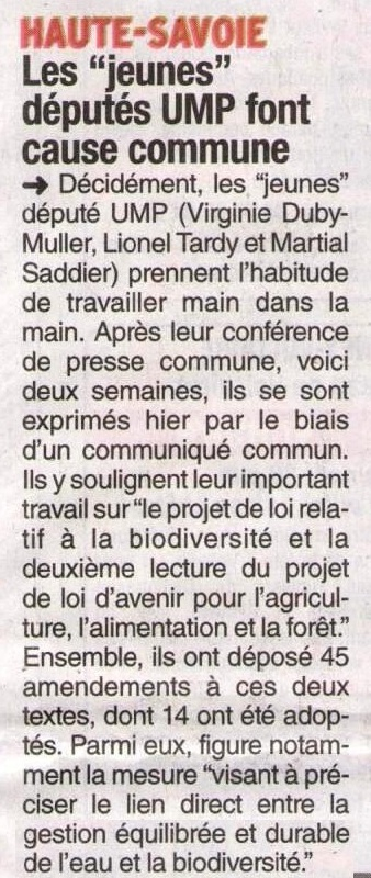 communique,presse,saddir,duby-muller,lionel tardy,projet de loi,biodiversite,agriculture,assemblee nationale,developpement durable,safer,amendement