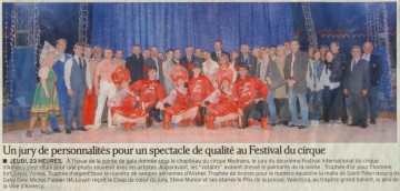 presse,annecy,cirque,festival,animation,dauphine libere