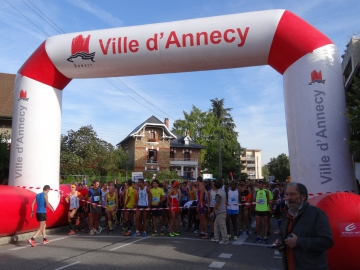 annecy,lac,10km,parcours,label,national