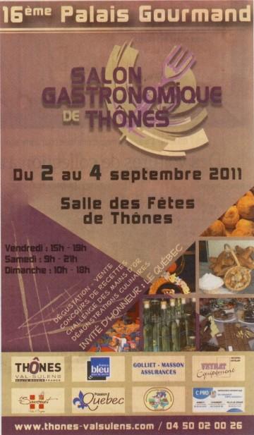 essor,thones,palais gourmand,gastronomie