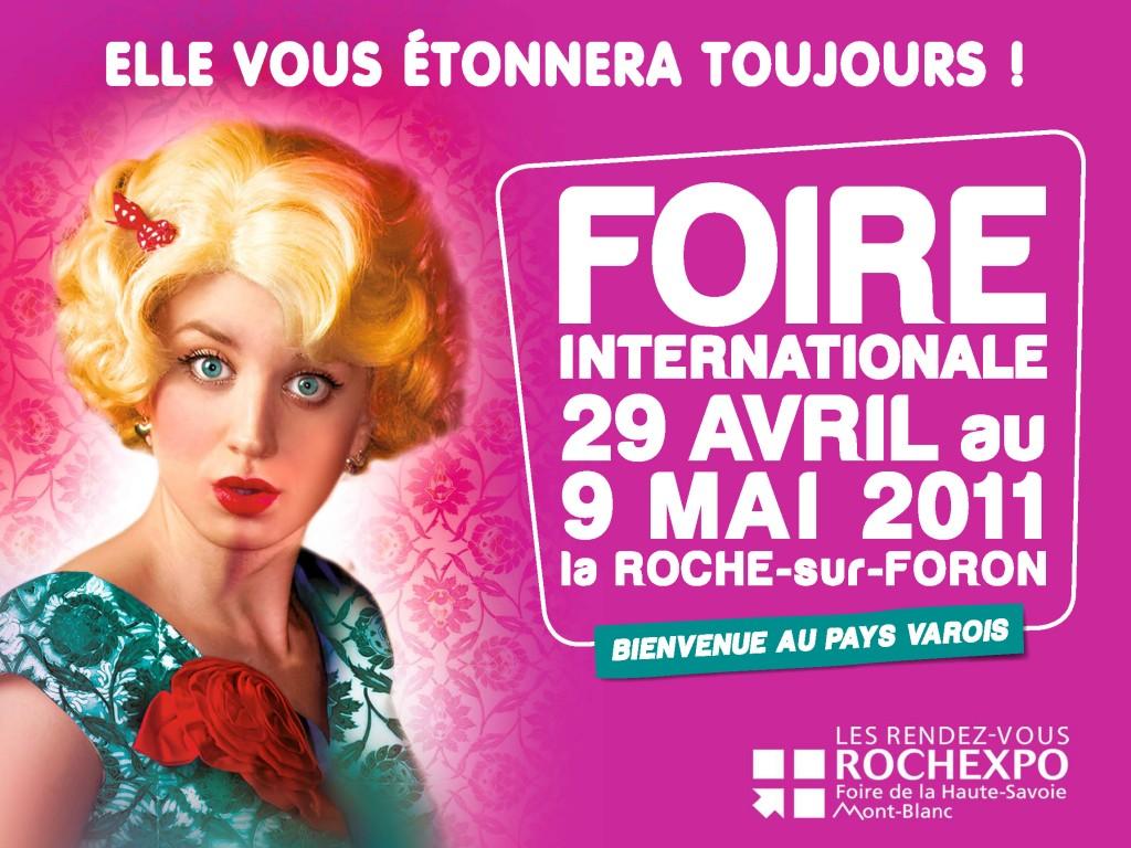 Inauguration de la 86 me foire internationale haute savoie for Foire la roche sur foron 2017
