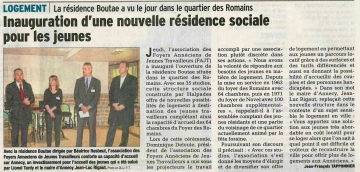 annecy,inauguration,foyer jeunes travailleurs,residence sociale,boutae