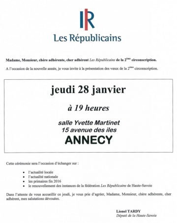 annecy,voeux 2016,tardy,lr,adherents