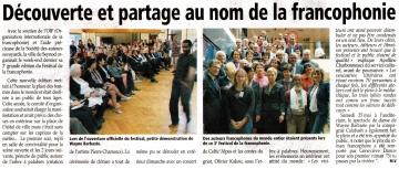 seynod,francophonie,festival,inauguration
