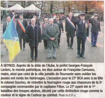 annecy,saint-jorioz,ceremonie,guerre,11 novembre