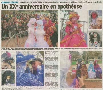 annecy,carnaval venitien,presse dauphine