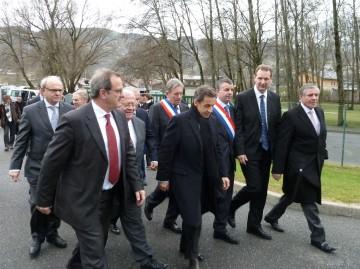 nicolas sarkozy,haute-savoie,rossignol,dynastar,campagne,sallanches,ski,president de la republique,patron