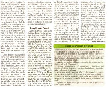 annecy,elections législatives 2012,directeur de campagne,haute-savoie