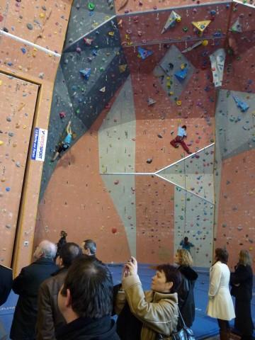 saint-pierre-en-faucigny,sport,ministre,escalade,alpinisme,douillet