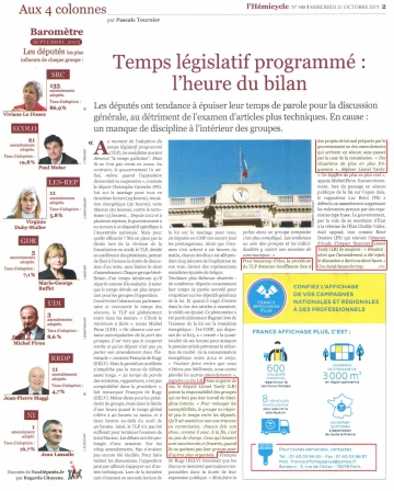 presse,hemicycle,amendement,temps legislatif,seance publique
