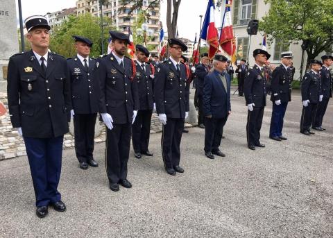 annecy,ceremonie,8 mai 1945,haute-savoie