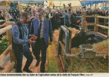 paris,salon de l'agriculture,fillon