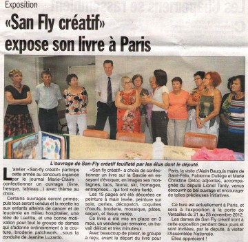presse,dauphine,hebdo,saint-felix,san-fly,atelier,creation,livre,savoie