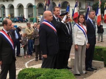 cluses,71eme anniversaire,liberation,haute-savoie