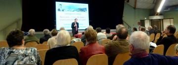 thones,reunion publique,presse,dauphine,essor,hebdo des savoie,legislatives 2012,bilan