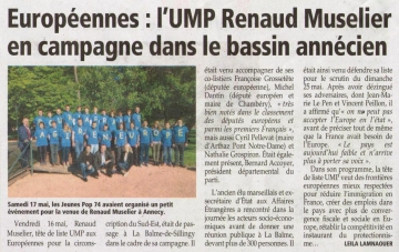 presse,dauphine,annecy,europe,tractage,election