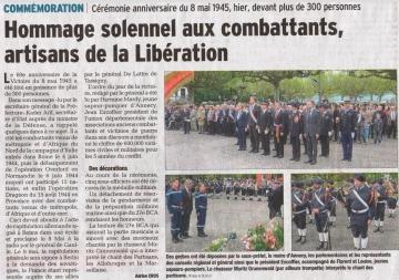 presse,dauphine,annecy,commemoration,monument,cermonie,8 mai,victoire,guerre