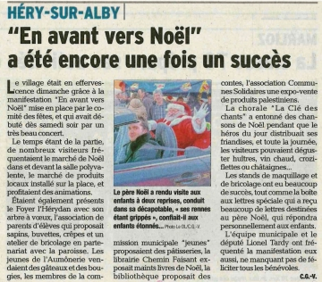 hery-sur-alby,marche de noel,haute-savoie