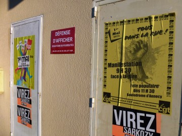 affichage,politique,sarkozy,ump,pcf