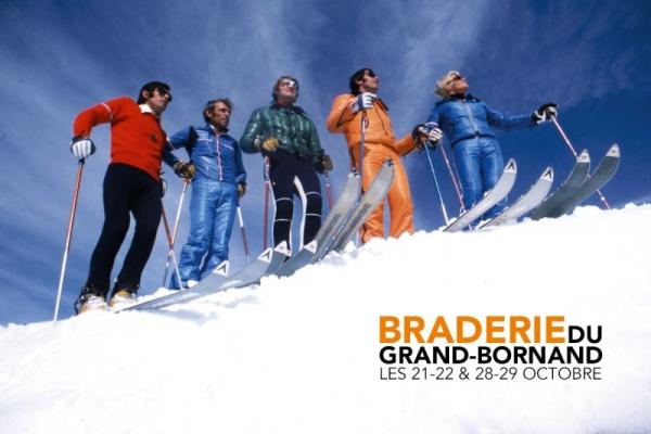 le grand-bornand,ski,braderie