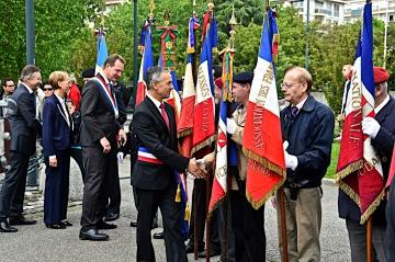 annecy,commemoration,monument,cermonie,8 mai,victoire,guerre