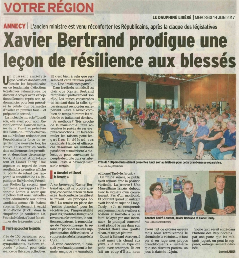meythet,reunion publique,xavier bertrand,legislatives 2017,les republicains,haute-savoie