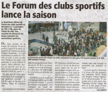 presse,essor,seynod,forum,clubs,sport,haute-savoie