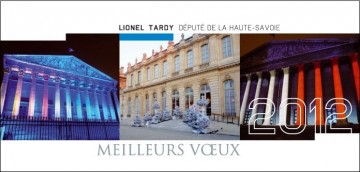 voeux,carte,lionel tardy
