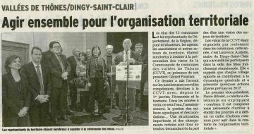 dingy-saint-clair,ceremonie,voeux,communaute de communes,thones,haute-savoie