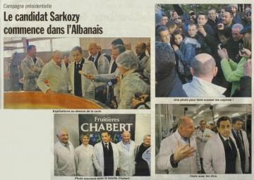 presse,dauphine,essor,annecy,visite,sarkozy,presidentielle 2012