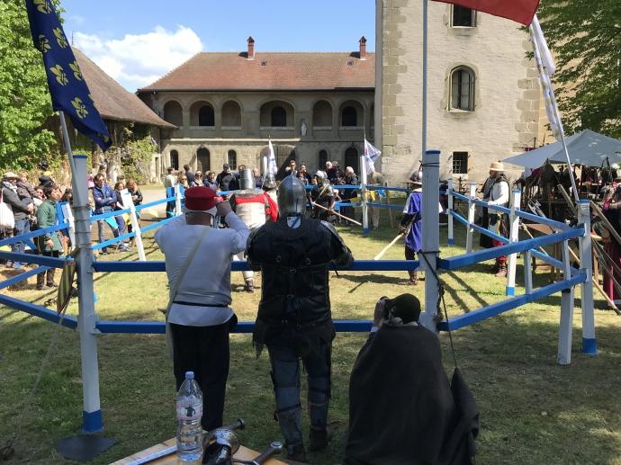 alby-sur-cheran,medievale,association,moyen age
