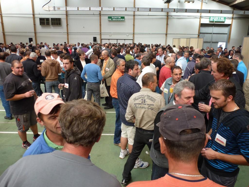 Inauguration du salon coop 39 est la roche sur foron for Salon professionnel batiment