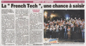 annecy,presse,dauphine,tic,cran-gevrier,candidature,annecy french tech