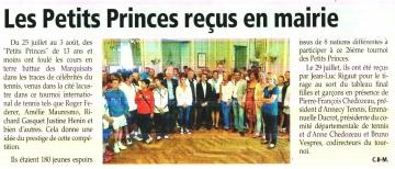 presse,dauphine,annecy,tennis,petits princes,lac,tournoi,international
