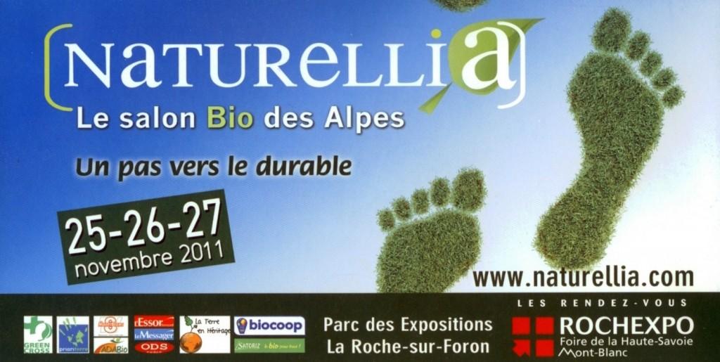 Inauguration de naturellia salon bio des alpes la la for Salon roche sur foron