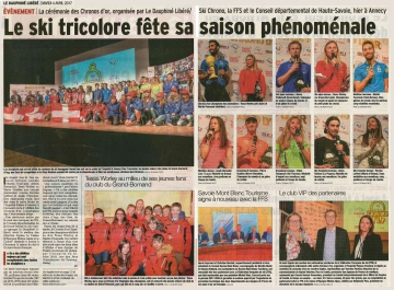 annecy,ceremonie,chronos d'or,athletes,ski alpin,ski freestyle,snowboard,ski nordique,biathlon,haute-savoie