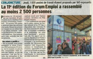 annecy,forum de l'emploi