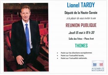 thones,rencontre debat,lionel tardy,ump 74,militants,public,2ème circonscription