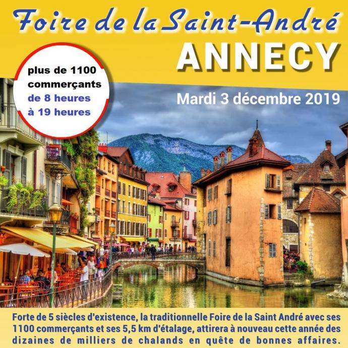 foire,saint-andré,fete,annecy,tradition